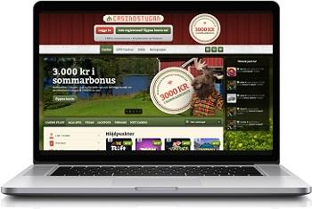 Casinostugan webbplats