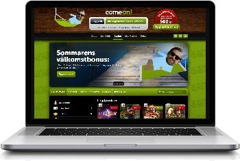 comeon-webbplats
