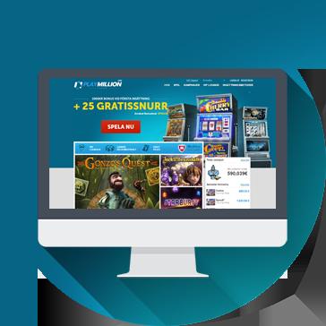 Playmillioncasino webbplats