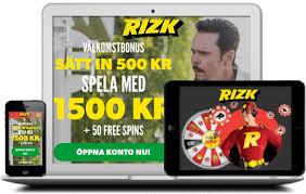 rizk casino webbplats